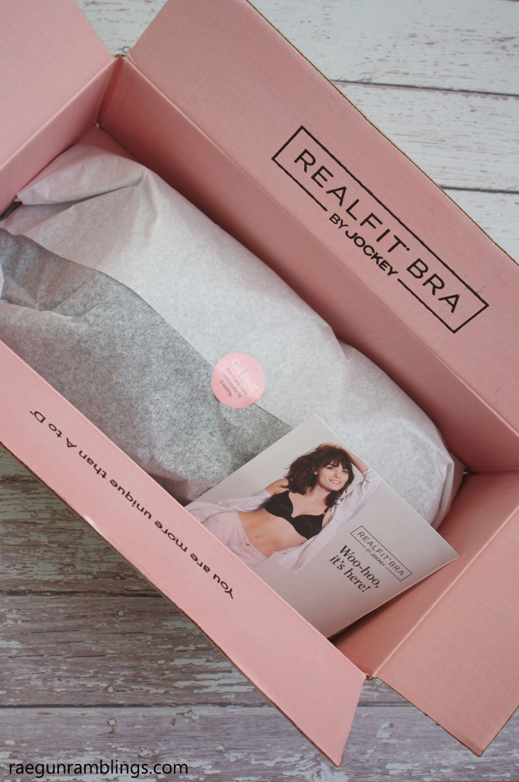 Real FIt Bras and fitting kit by Jockey review. This sounds so much better than traditional bra shopping