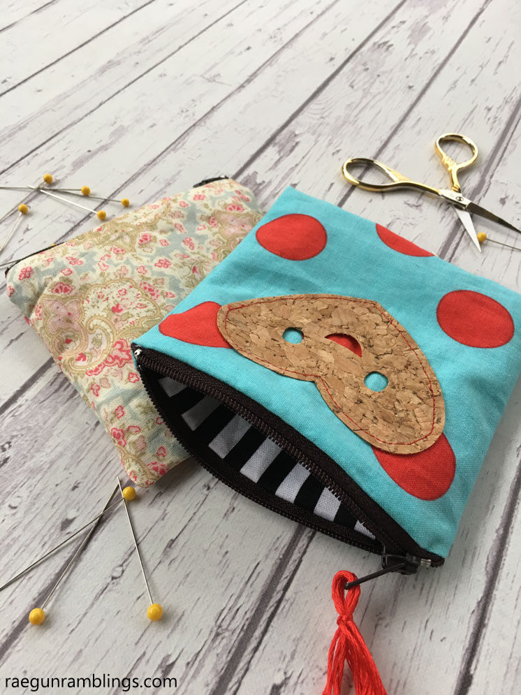 Super easy 15 minute zipper pouch sewing tutorial