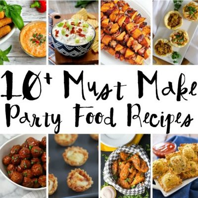 Over 10 Party Food Recipes and Block Party