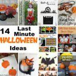 14 last minute halloween ideas with full craft tutorials