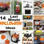 14 last minute halloween ideas with full craft tutorials