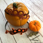 How to make Hair Boos. Adorable diy hair accessories tutorial for Halloween