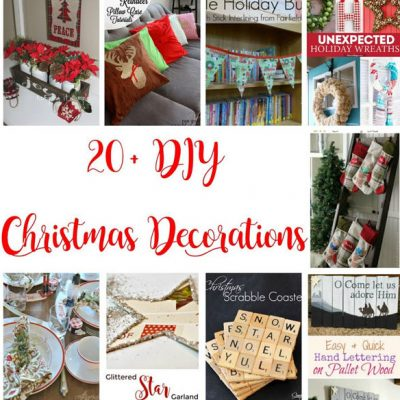 20+ DIY Christmas Decorations and Block Party