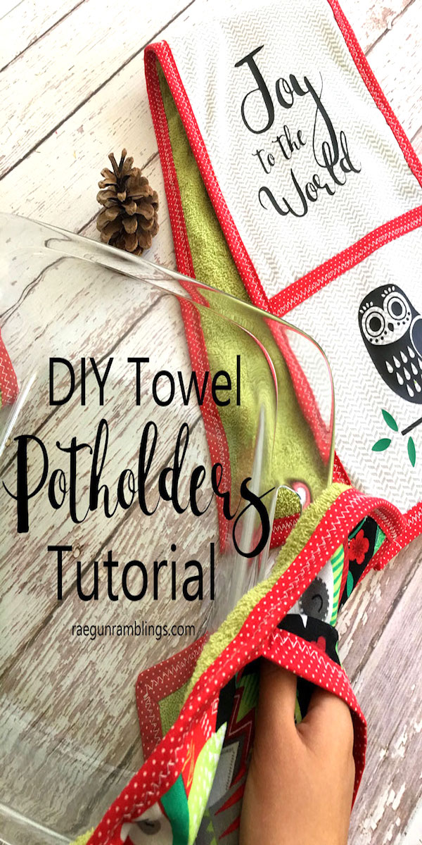 How to make double pocket diy towel potholders. Hands down the best pot holders.
