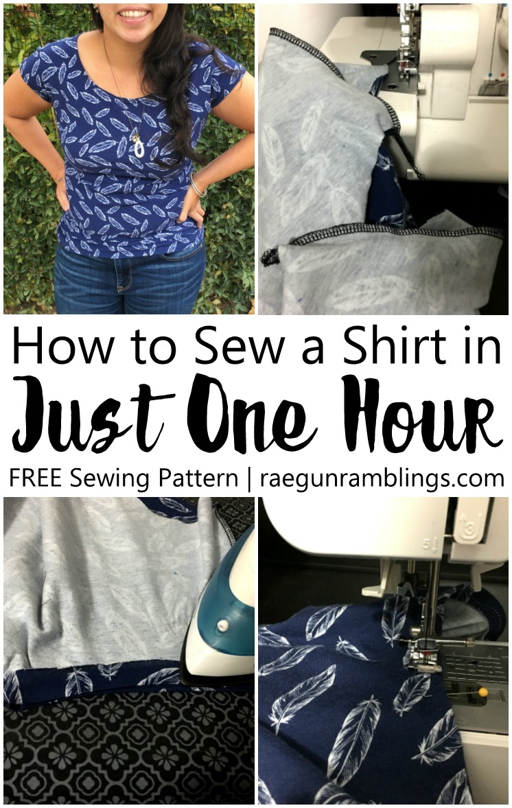 These are my favorite shirts love this quick and easy free women's shirt sewing pattern