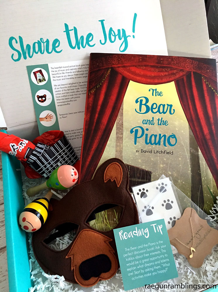 Lit Joy Crate kids book box subscription box. Great Toddler gift idea