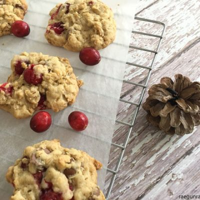 Cranberry Oatmeal Chocolate Chip Cookies and Little Partners Learning Tower Review