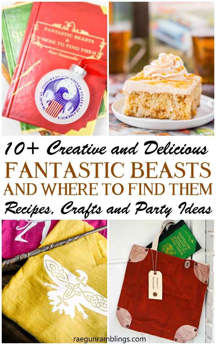 Fantastic Beasts and Where to Find Them Party ideas, recipes, crafts and other DIY tutorials