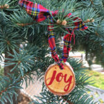 Easy DIY Joy Ornament Tutorial