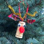 10 minute rudolf wine cork christmas craft tutorial