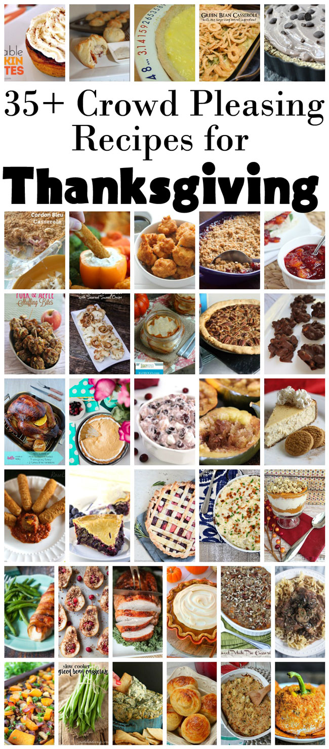 Lots of Thanksgiving recipes from tradition to vegan.