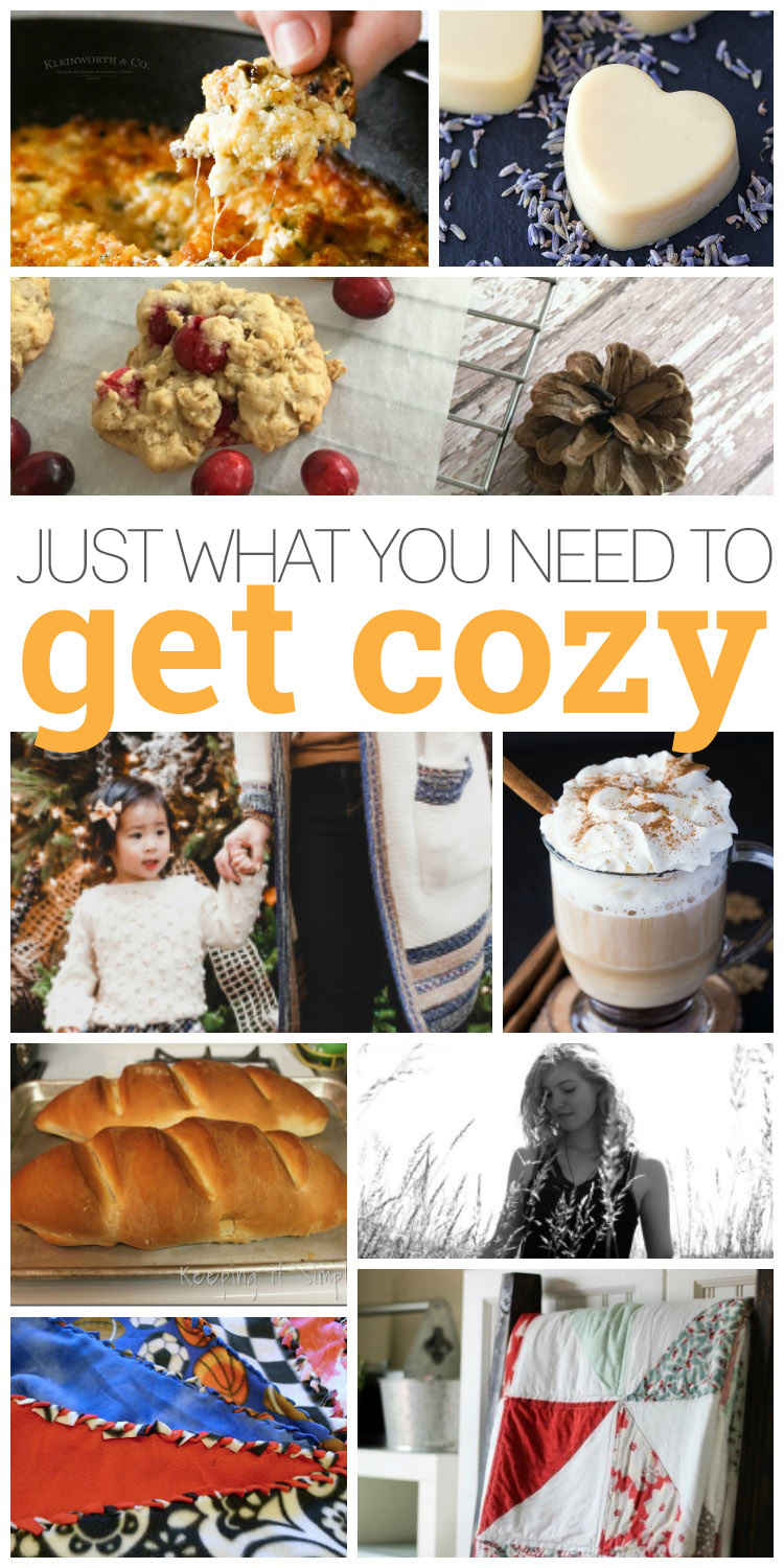 Ways to get cozy. Tutorials, recipes and diys