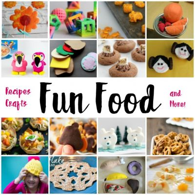 Fun Food Recipes Crafts and Block Party