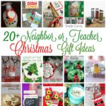 neighbor and teacher gift ideas DIY tutorials