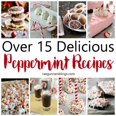 15+ Peppermint Recipes and Block Party