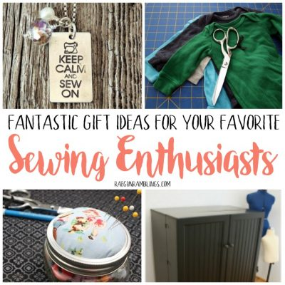 Top Gifts for Sewing Enthusiasts from Scissors to Cricut