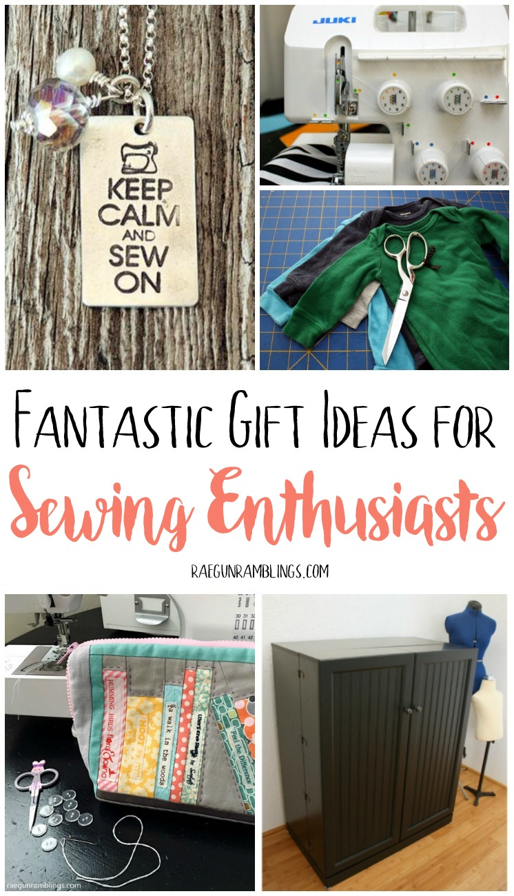 So many great gifts that sewing people will love. Great crafty gift guide.  sc 1 st  Rae Gun Ramblings & Top Gifts for Sewing Enthusiasts from Scissors to Cricut - Rae Gun ...