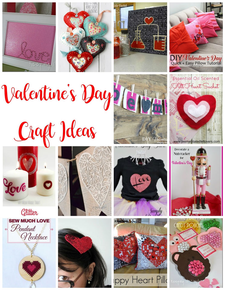 15+ Valentine's Day Craft Ideas