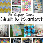 Perfect for crafting day lots of DIY quilt and blanket sewing tutorials