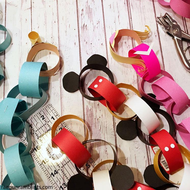 DIY Disney Princess Countdown Crafts - Rae Gun Ramblings