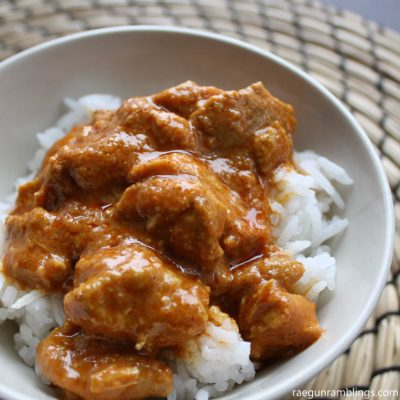 Pressure Cooker Indian Butter Chicken Recipe