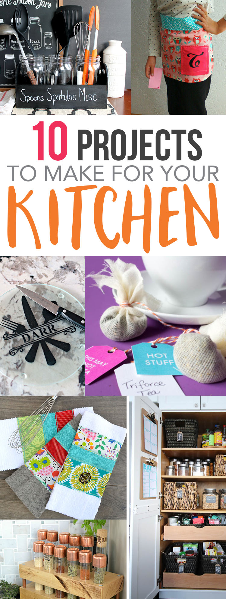 kitchen diys great things to make for your cooking space