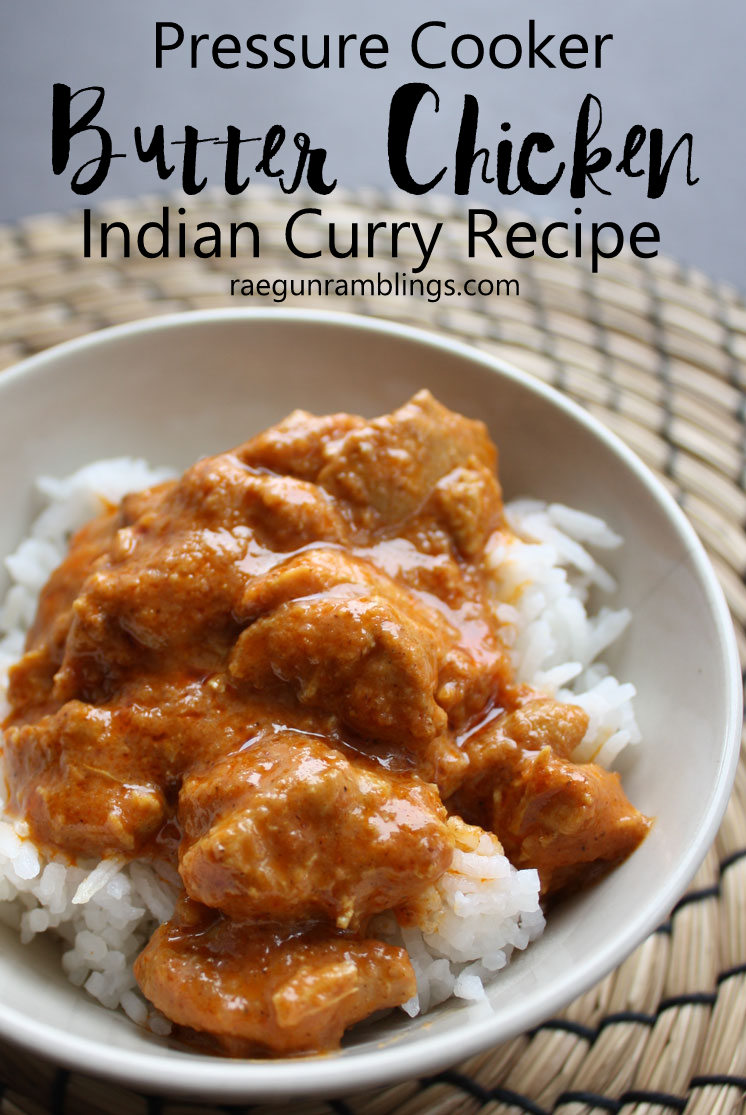 It's a keeper this Butter chicken recipe is in our dinner rotation. Great curry instant pot meal. via @raegun