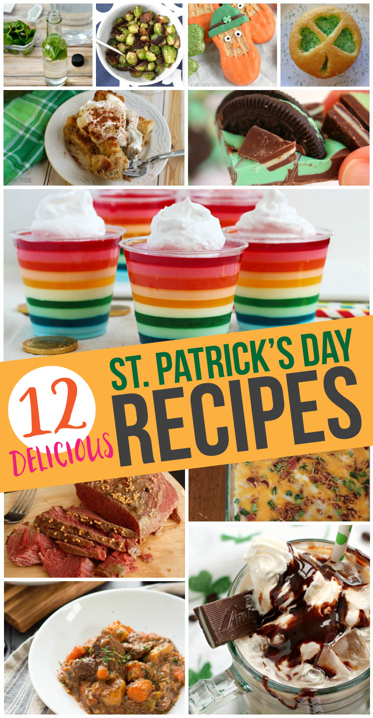 12 Delicious St. Patrick's Day Recipes