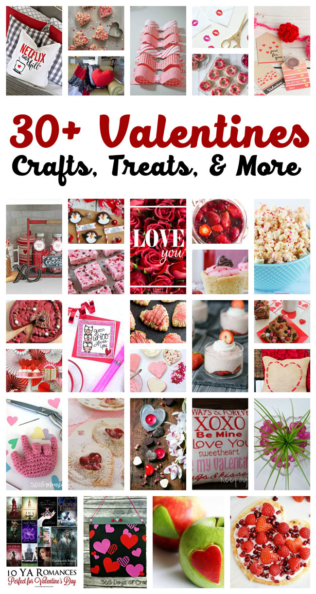 Valentine's Day Crafts Treats and More