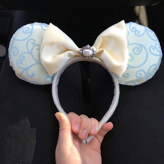cinderella ears adorable mouse hear headband for Disney vacations