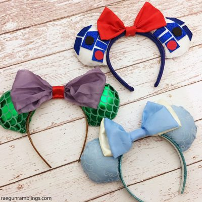 DIY Disney Ears Crafting Tutorial