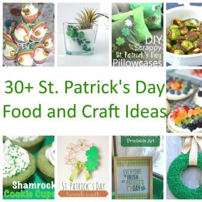 St. Patrick's Day Crafts and Recipes and Block Party
