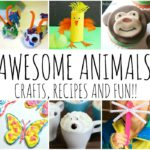 AWESOME ANIMAL CRAFTS RECIPES