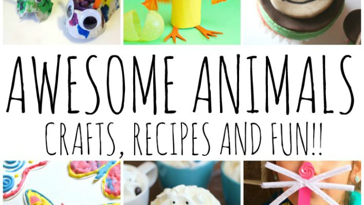 Awesome Animal Crafts Recipes and Kid Ideas and Block Party