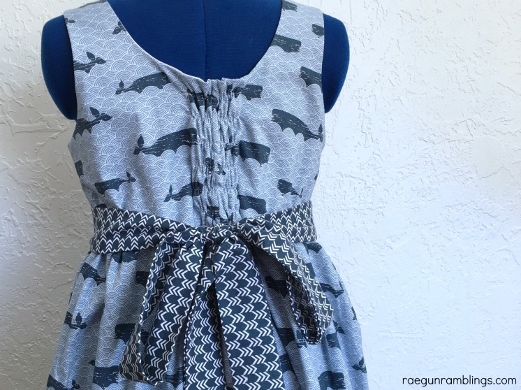 make a flexible dress from woven fabric