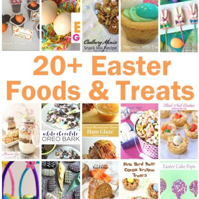 20+ Easter Foods and Treats and Block Party