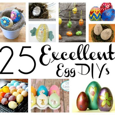 25 DIY Easter Eggs and Block Party