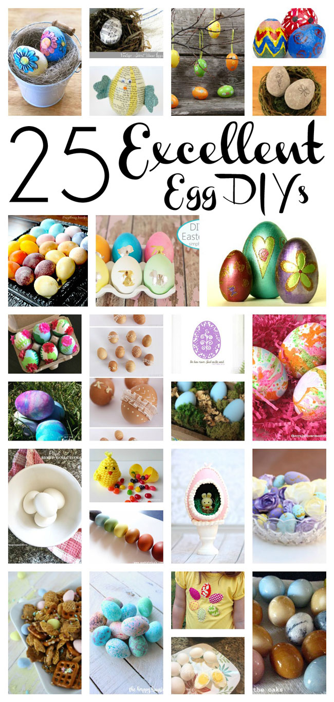 DIY Easter Eggs decorating and recipes
