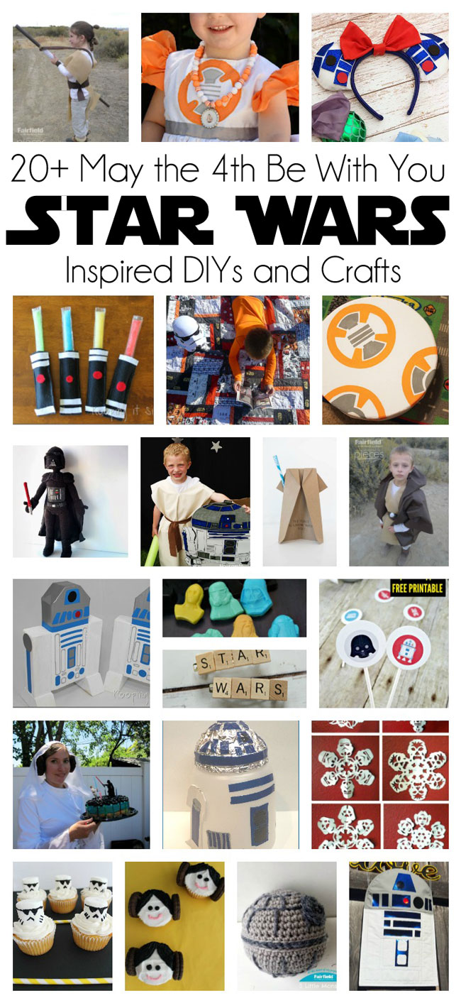 Lots of awesome diy Star Wars projects and tutorials