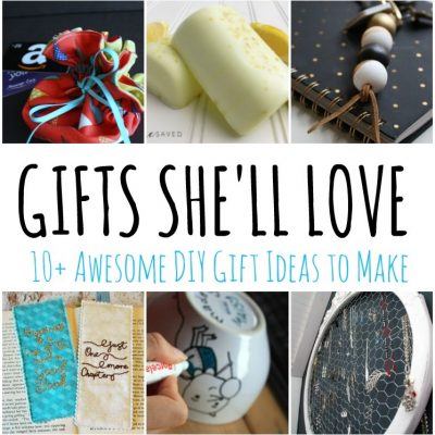 DIY Gift Ideas She Will Love and Block Party