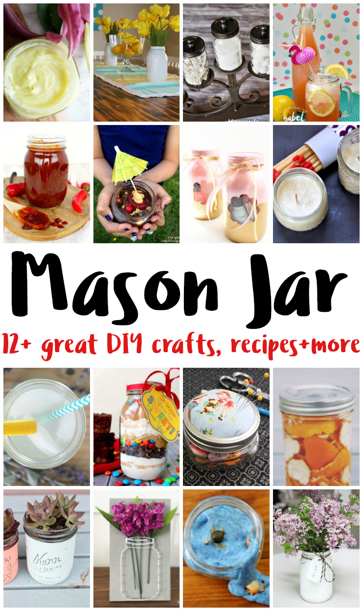 These Mason Jar Crafts Recipes DIY projects look absolutely amazing