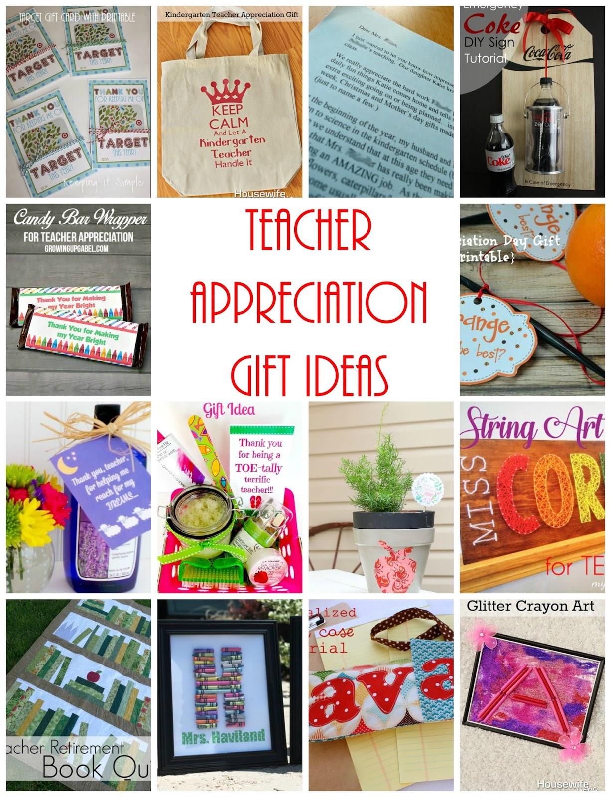 teacher appreciation gifts and block party  rae gun ramblings
