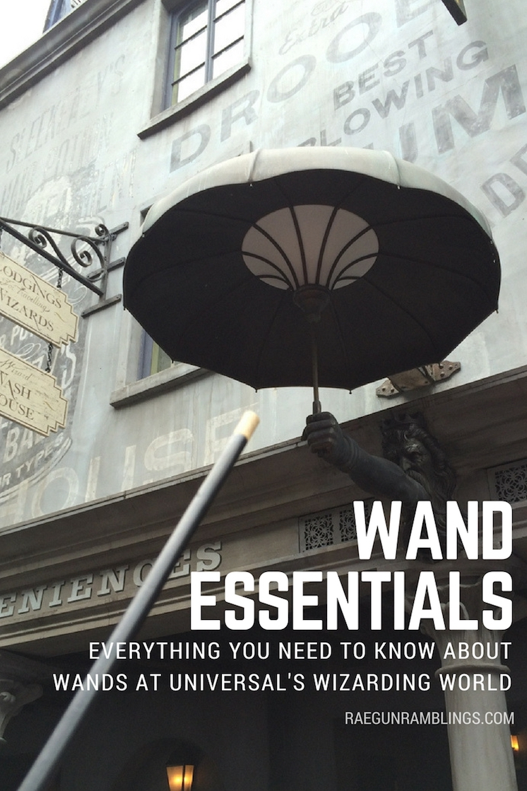 must read guide to interactive wands at universal