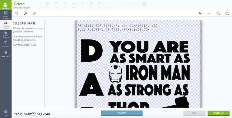 089e82f8 Daddy Superhero Shirt DIY Template - Rae Gun Ramblings