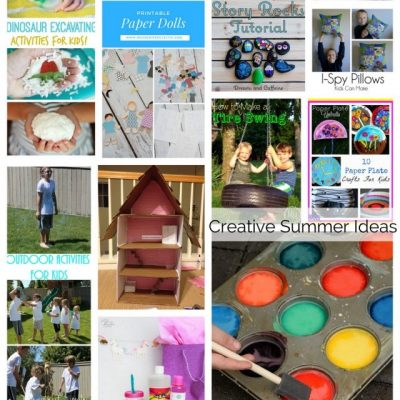 Creative Summer Activities and Block Part