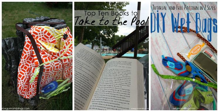 pool crafts, reading lists, diys
