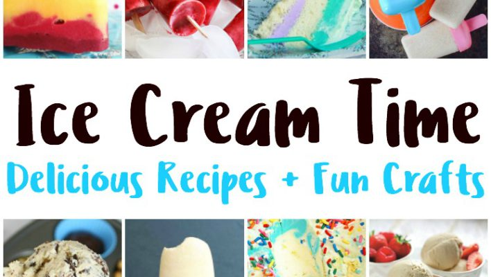 Ice Cream Recipes, Craft Ideas and Block Party