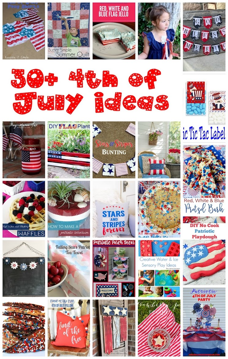 30+ Patriotic and 4th of July Ideas