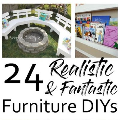 DIY Furniture Projects and Block Party
