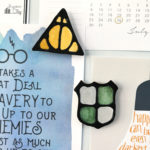 DIY Harry Potter Black Glue Magnets